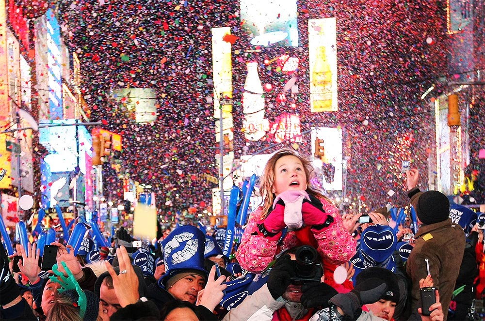 Times Square New Years Eve at Times Square Family Pass   NYC New     Times Square Family Pass Times Square New Years Eve 2019