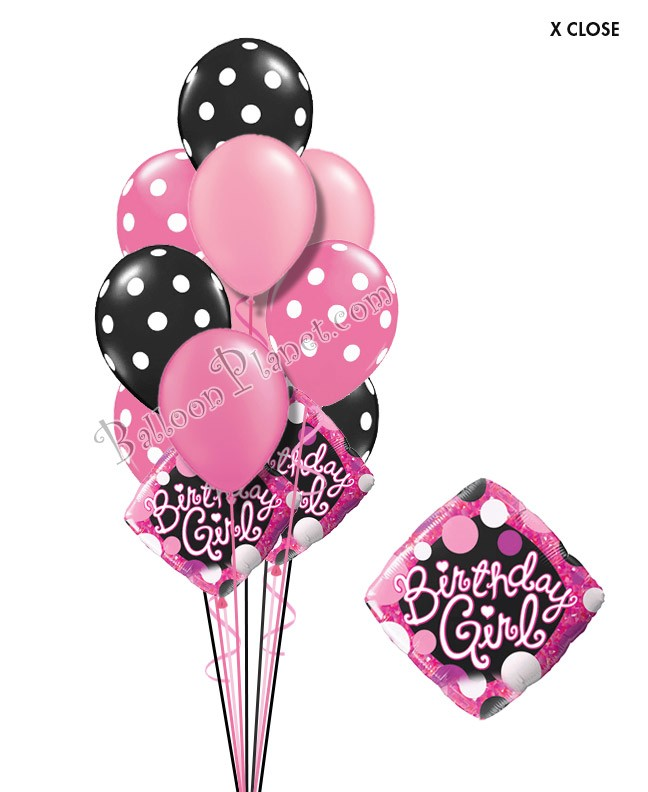 Sweet Sixteen Birthday Balloon Bouquet 16 Balloons