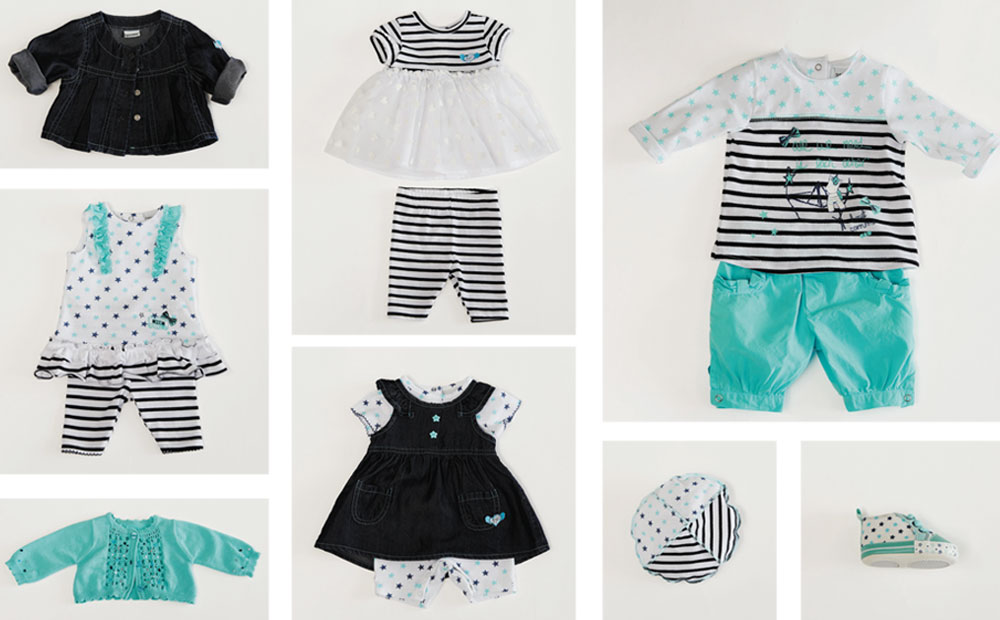 3 Pommes Girls Clothing 0m 18m Bambinos Wexford