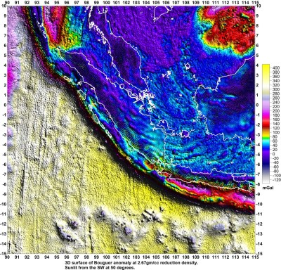 Bouguer Gravity Lineaments of Sumatra, Java and Borneo ...