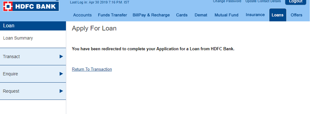 Hdfc Bank Personal Loan Status Reference Number