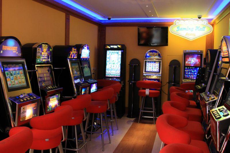 Slot Machine Al Cavallino Bar Moro