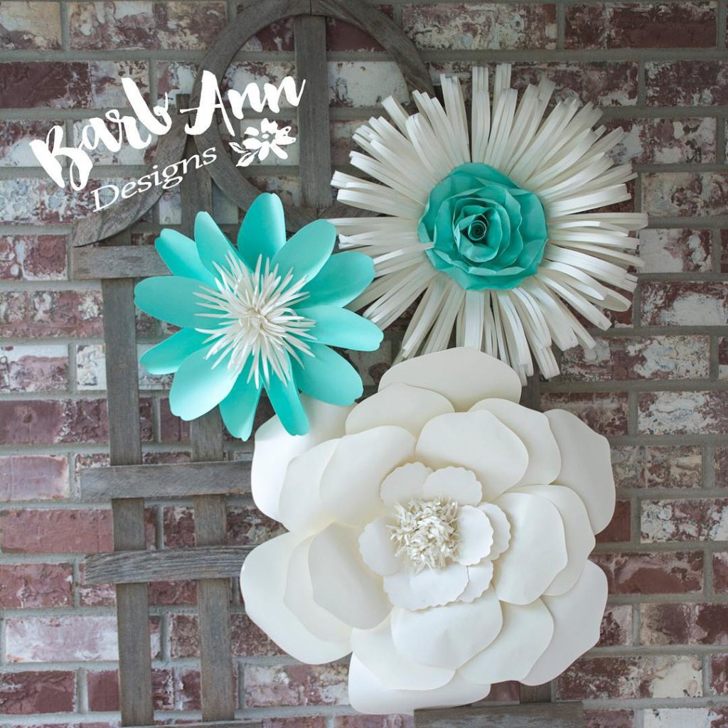 paper flowers Archives   Barb Ann Designs Baby Nursery Decor