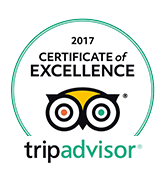 Tripadvisor - Certificate Excellence