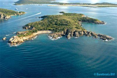 Little Camanoe Island in the British Virgin Islands