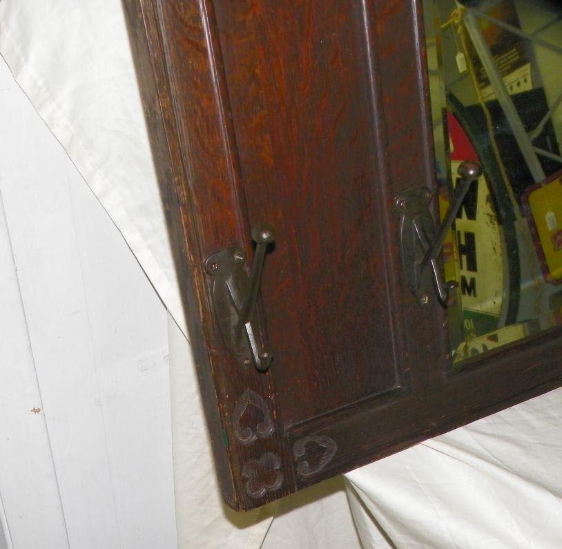 Bargain John S Antiques Antique Mission Oak Mirror With