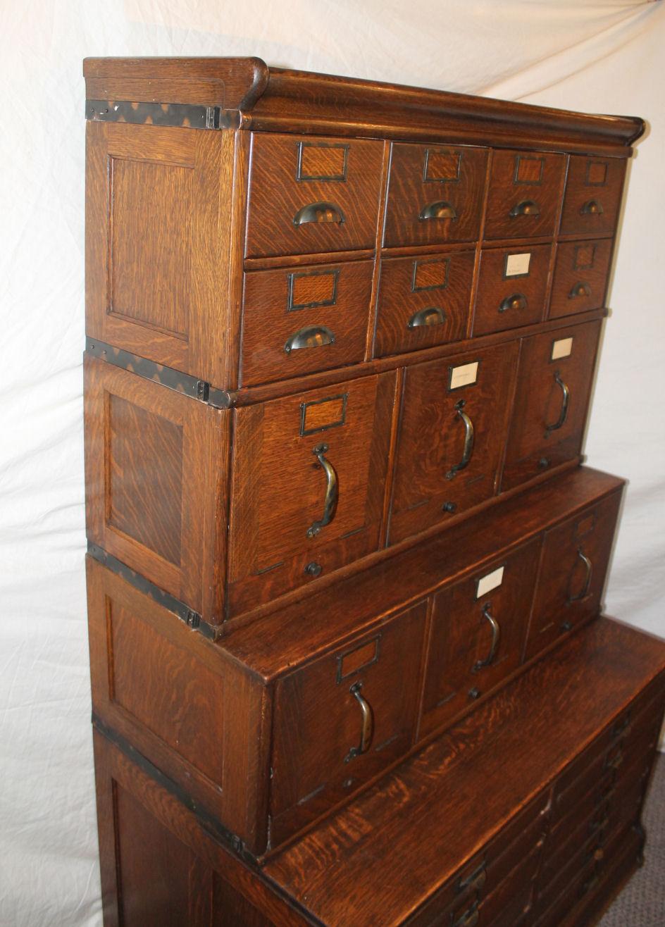 Bargain John S Antiques Antique Oak File Filing Cabinet