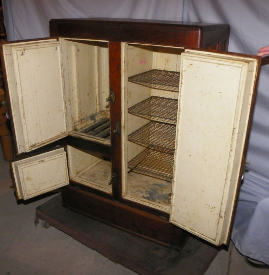Bargain John S Antiques Antique Oak Ice Box Herrick