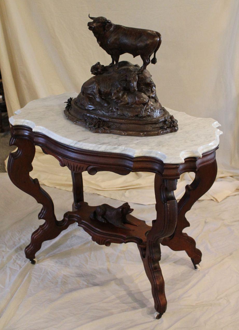 Bargain John S Antiques Antique Victorian Marble Top