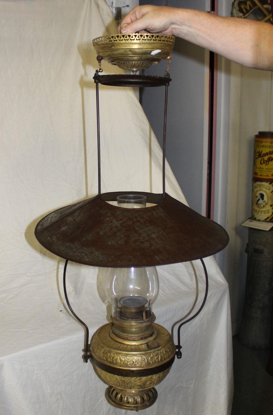 Bargain John S Antiques Country Store Lantern Lamp