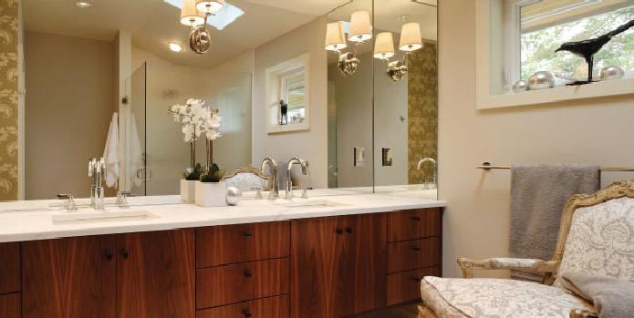 Slab Cabinets In Walnut