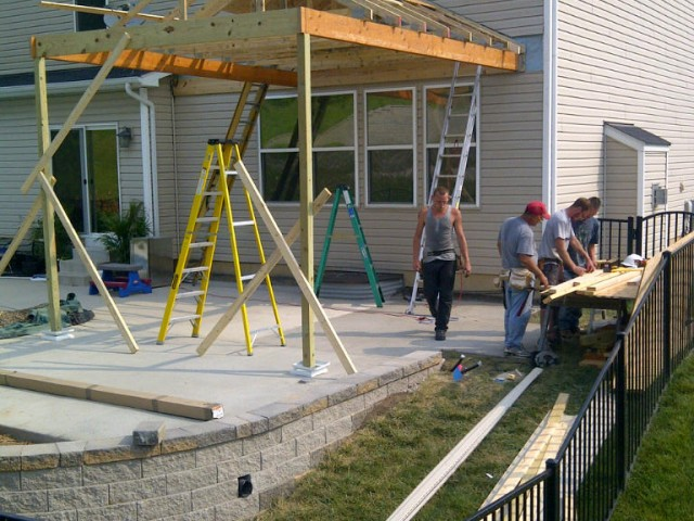 St Louis Patio Covers Gt Gt Call Barker Amp Son At 314 210 5472