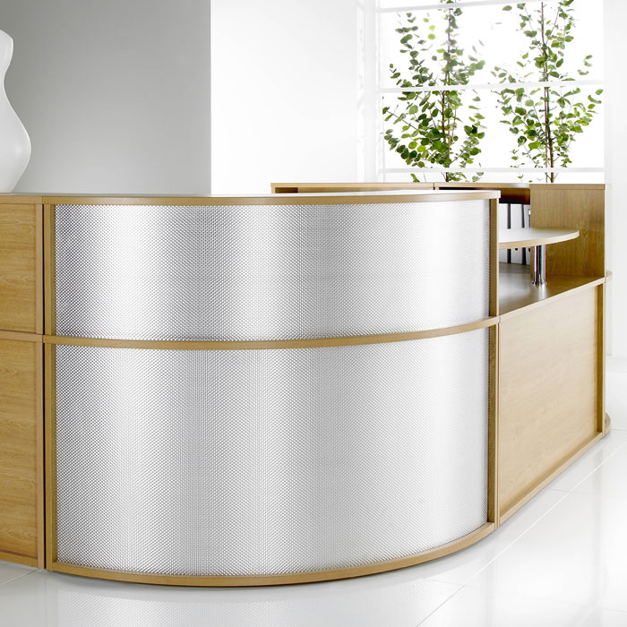 U Shaped Modular Reception Desk Reception Furniture