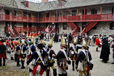 Patriots Week Old Barracks Museum