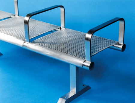 Stainless Steel Seating Seats Amp Benches Barricade Ltd Uk