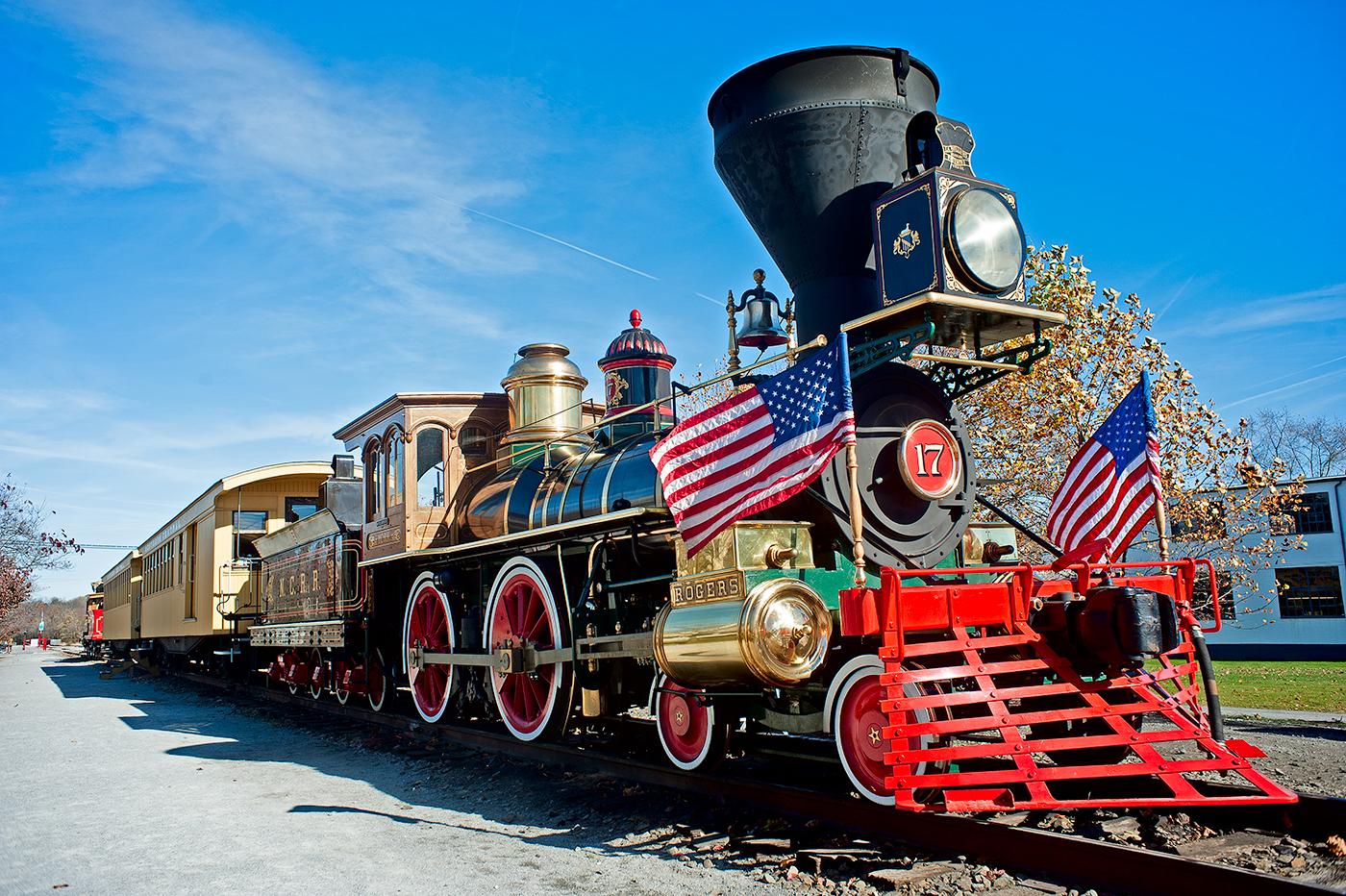Steam Into History - NCRR 17 The York Steam Locomotive New ...