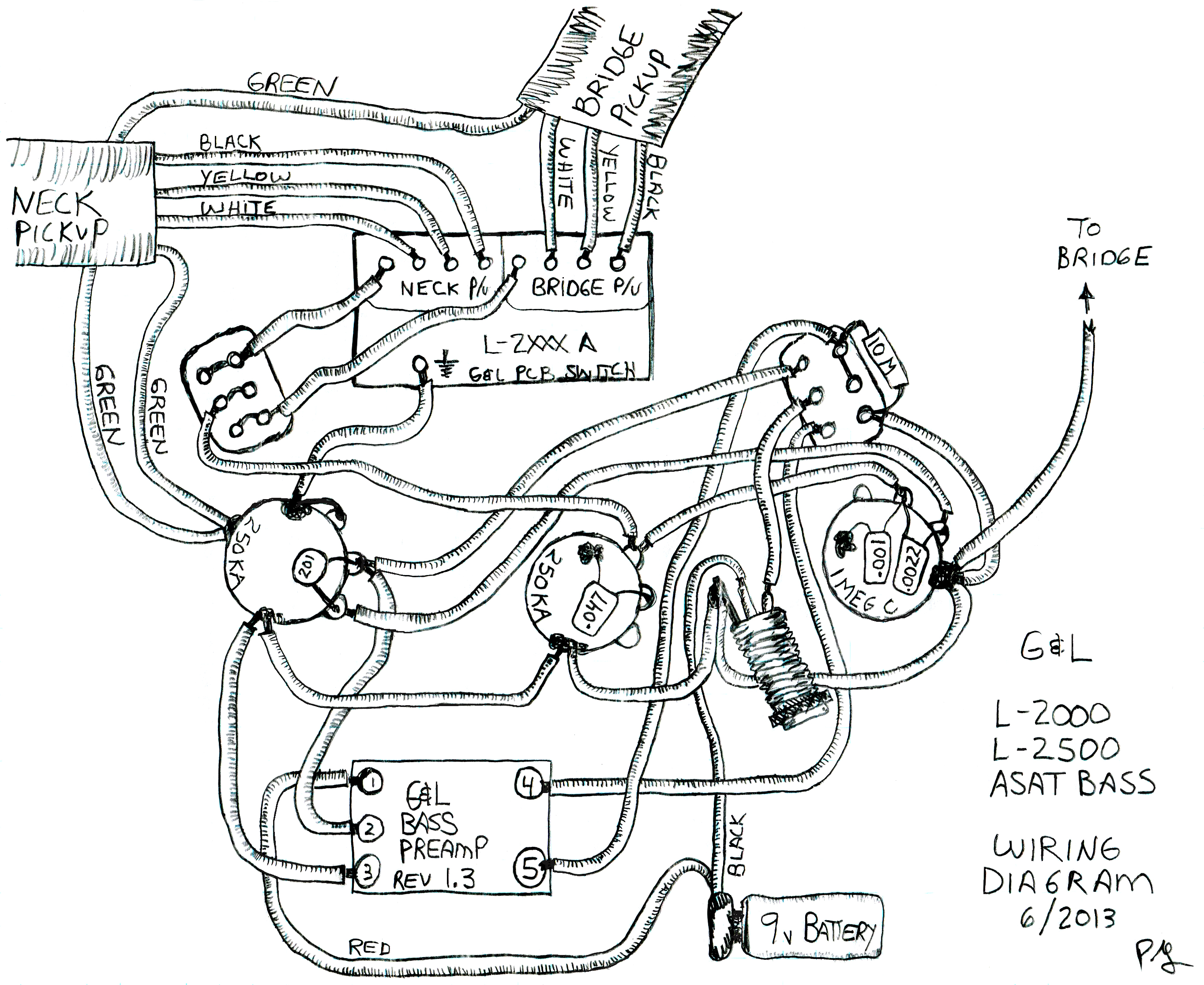 Bass wiring diagram wiring diagram
