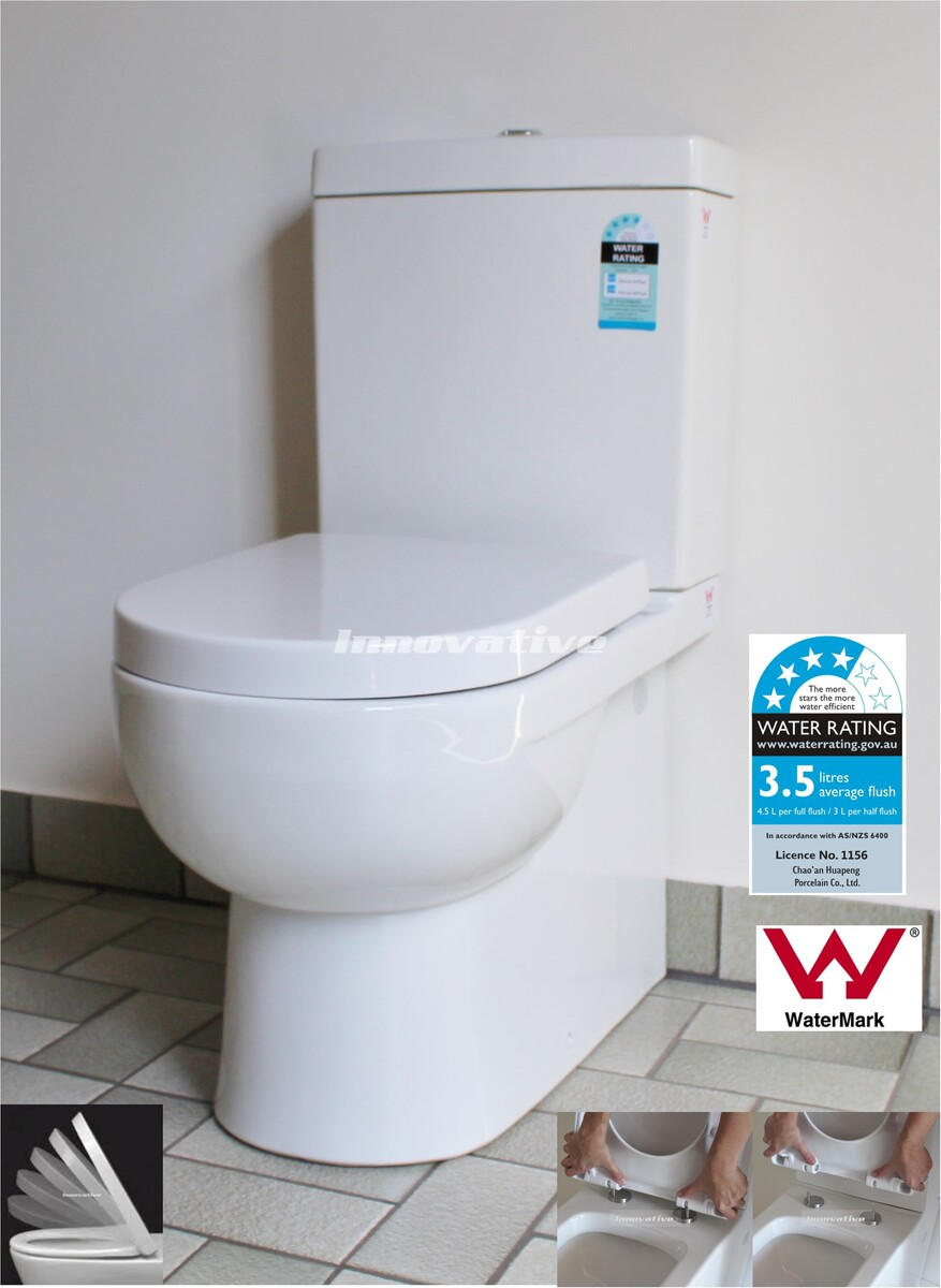 Back To Wall Ceramic Toilet Suite Traditional Design S Amp P
