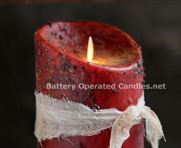 Led Candle Canvas