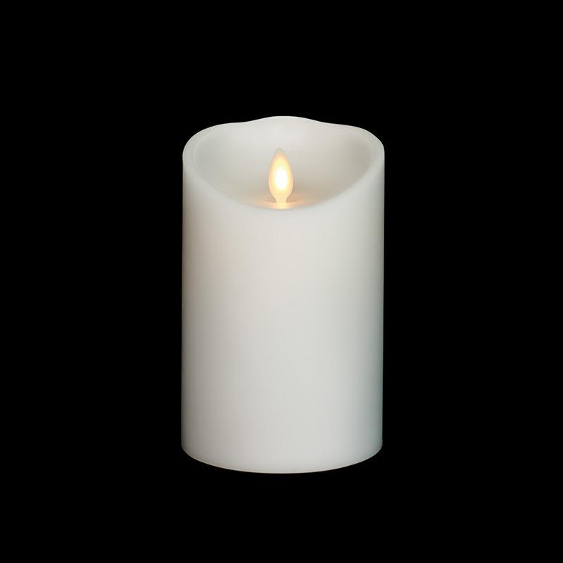Led Light Candle Canvas
