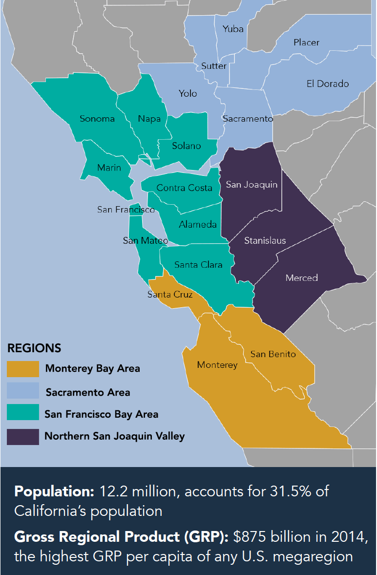 Bay Area Map Northern Ca