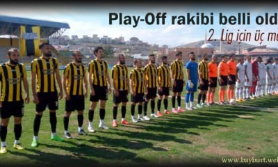 Play-Off rakibi belli oldu