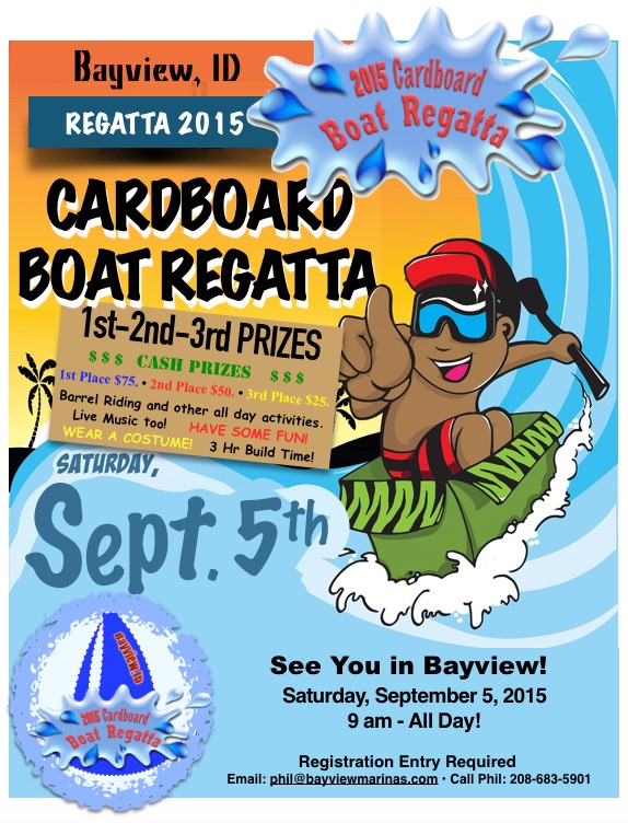 Cardboard Boat Regatta Bayview Marina S And Resort