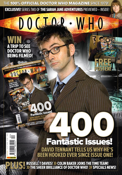 Bbc Doctor Who Doctor Who Magazine 400