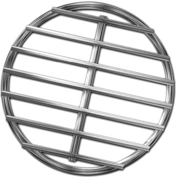 Stainless High Heat Charcoal Fire Grate Upgrade For Small