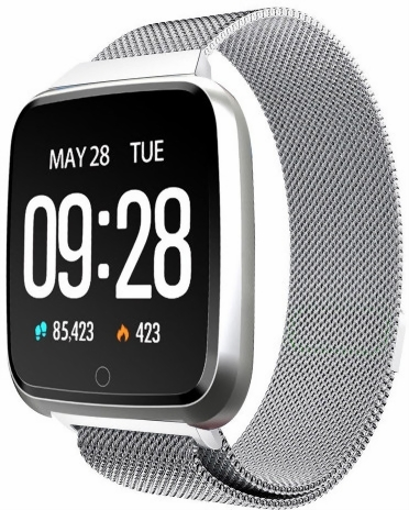 HuaWise Y7 Blood Pressure Dustproof Smartwatch Price in ...