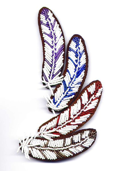 Native American Feather Pattern