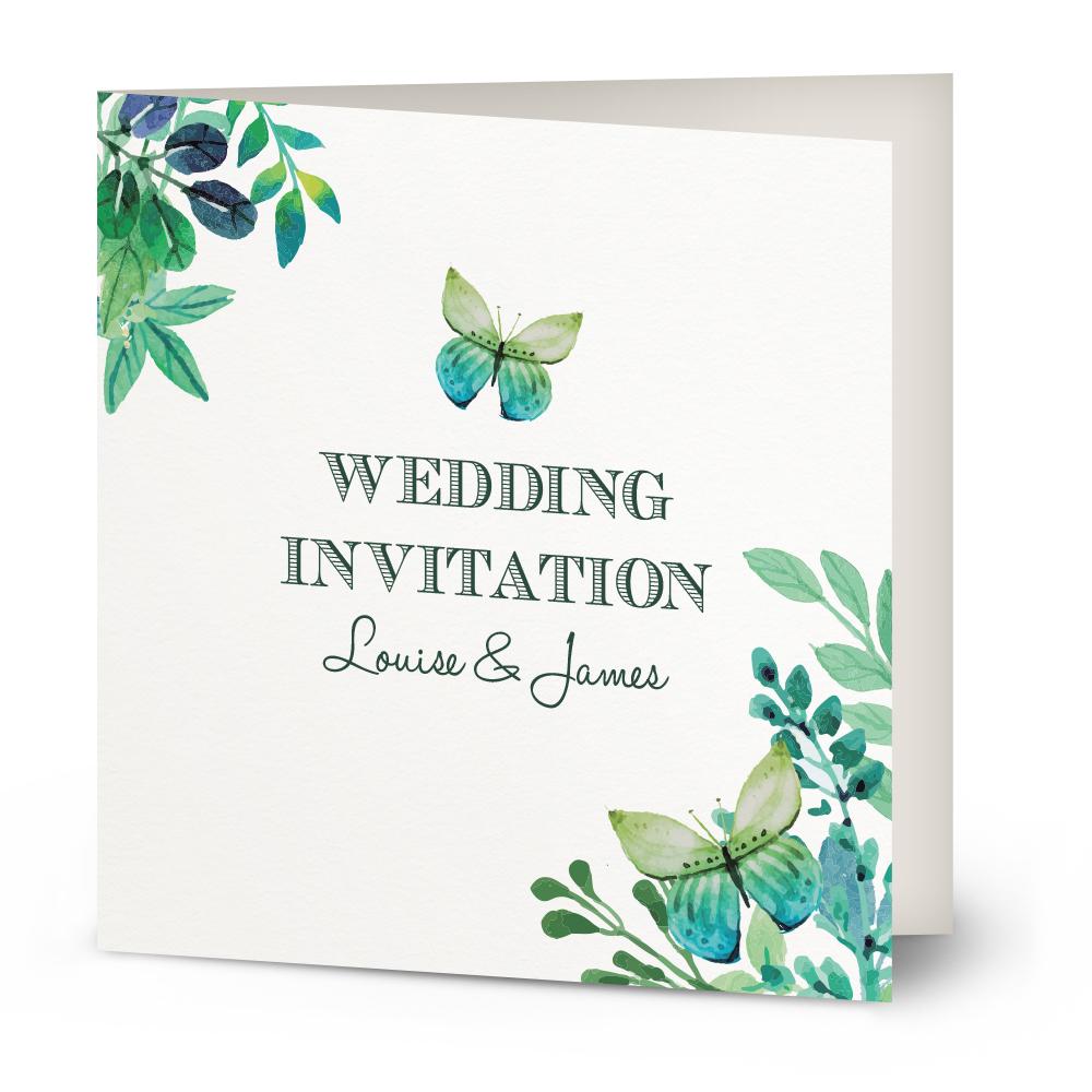 Personalised Wedding Invitations