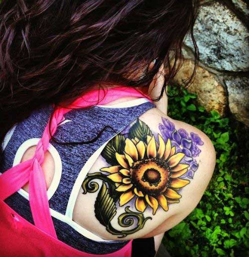 25 Amazing Sunflower Tattoo Designs & Meanings - Beauty Epic
