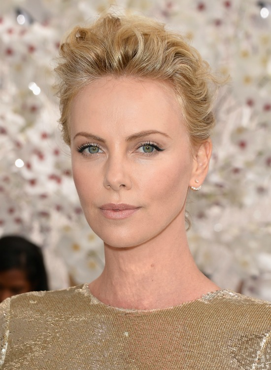Charlize Theron Short Hairstyles Page 1
