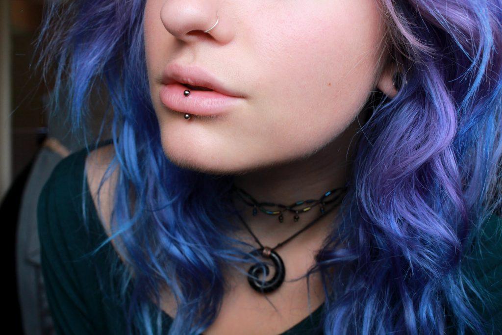 Inside Lip Piercing Lip