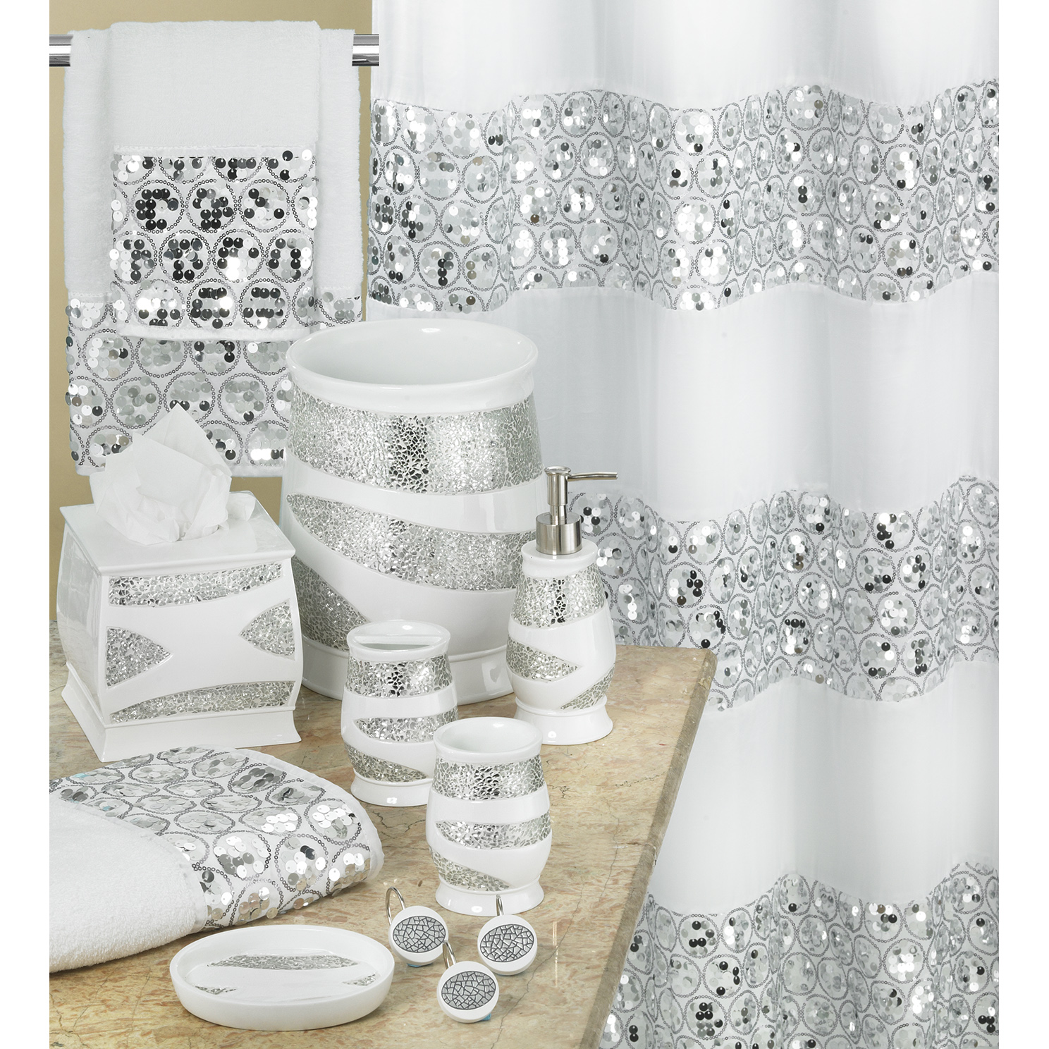 Shower Curtains And Matching Window Treatments