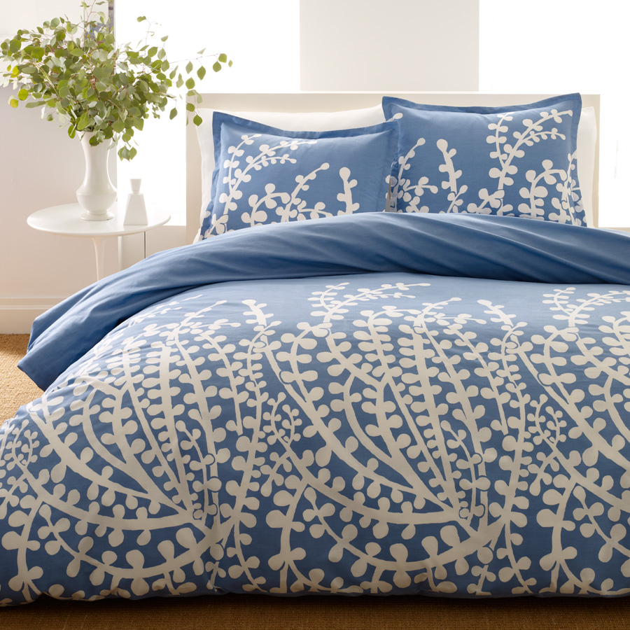 Navy Blue Comforter Pattern