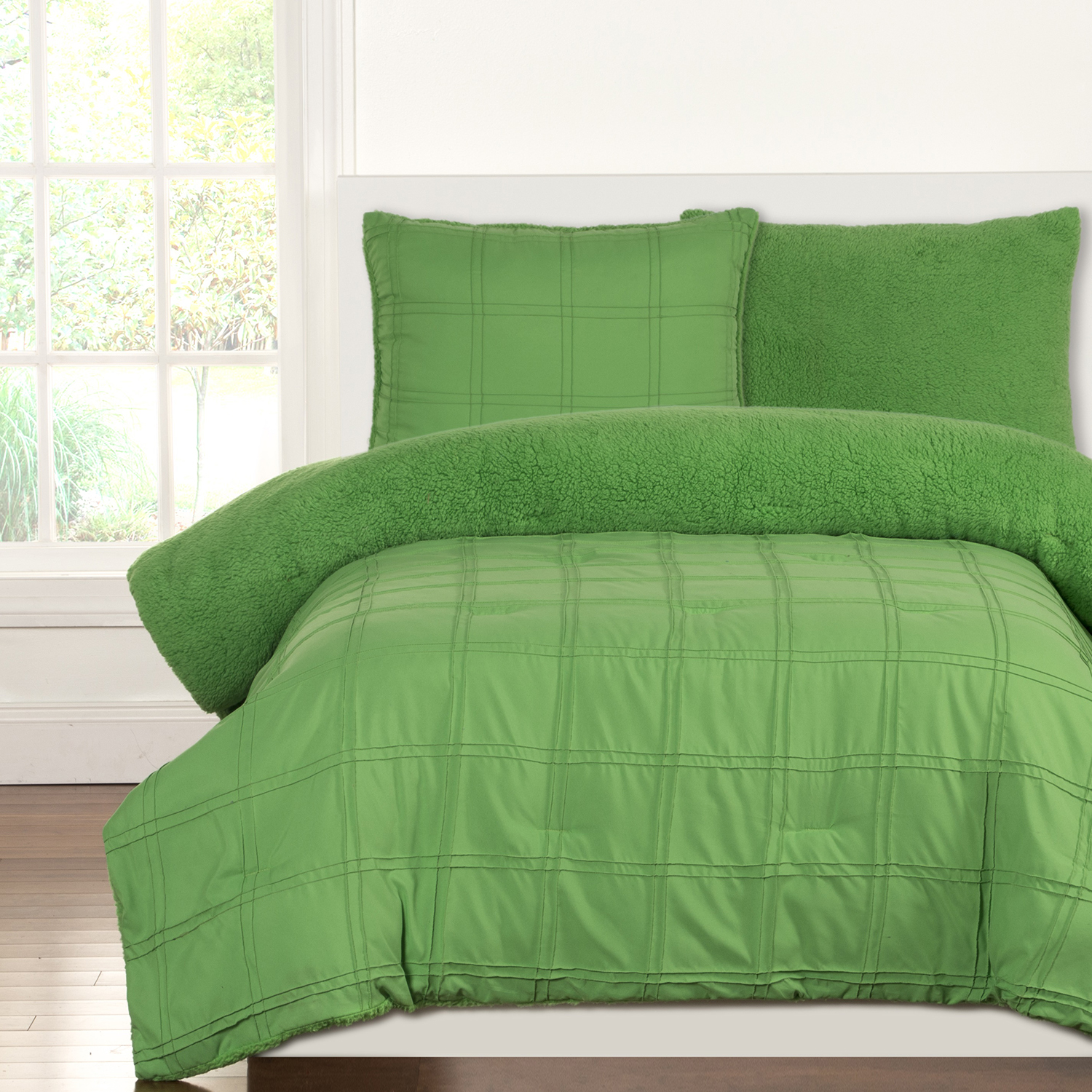 Playful Plush Jungle Green By Crayola Bedding