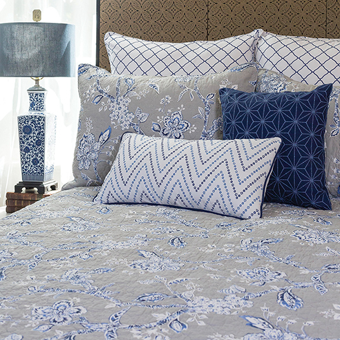 Annabelle Blue By C Amp F Quilts Beddingsuperstore Com