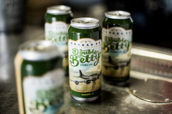 Hangar 24 Double Betty IPA returns  this time in four pack 16 oz     Hangar 24 Double Betty IPA cans BeerPulse