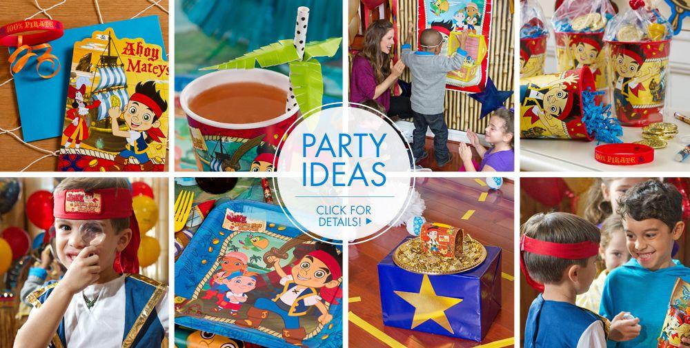 Birthday Invitations Jake And Neverland Pirates