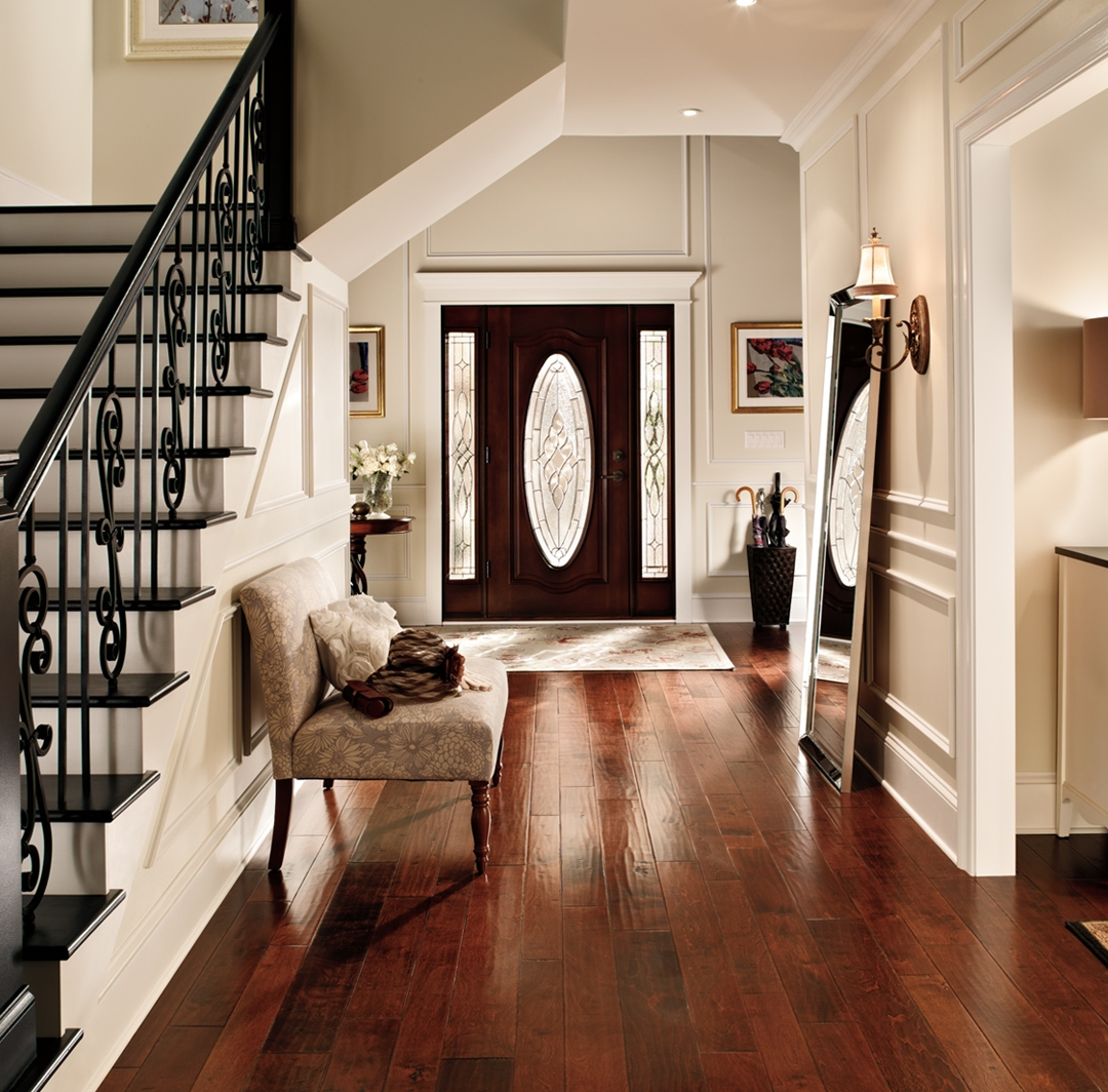 Calming Hallway Ideas And Inspirational Paint Colors Behr   Stair Wall Colour Design   Wood Wall   Before And After   Room Wall   Hall Colour Combination   Family