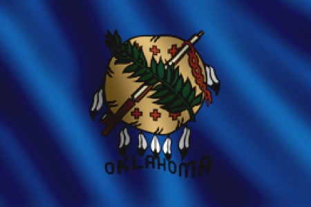 State Of Oklahoma Flag Path Decorations Pictures Full Path