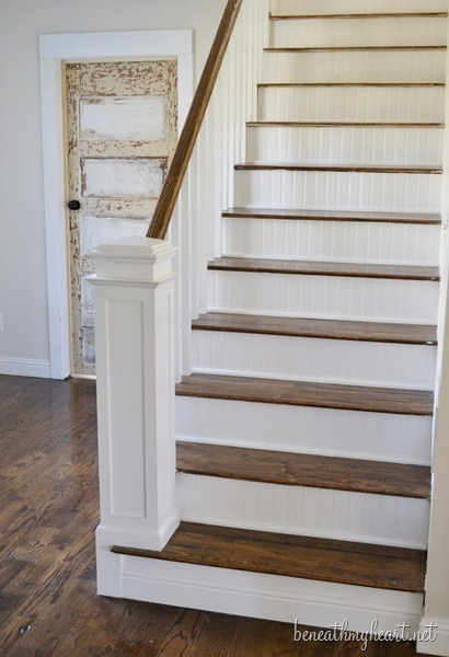 How To Build A Newel Post Beneath My Heart   Shaker Style Newel Post   Shingle Style   Baluster   Pressure Treated   Square   Railing