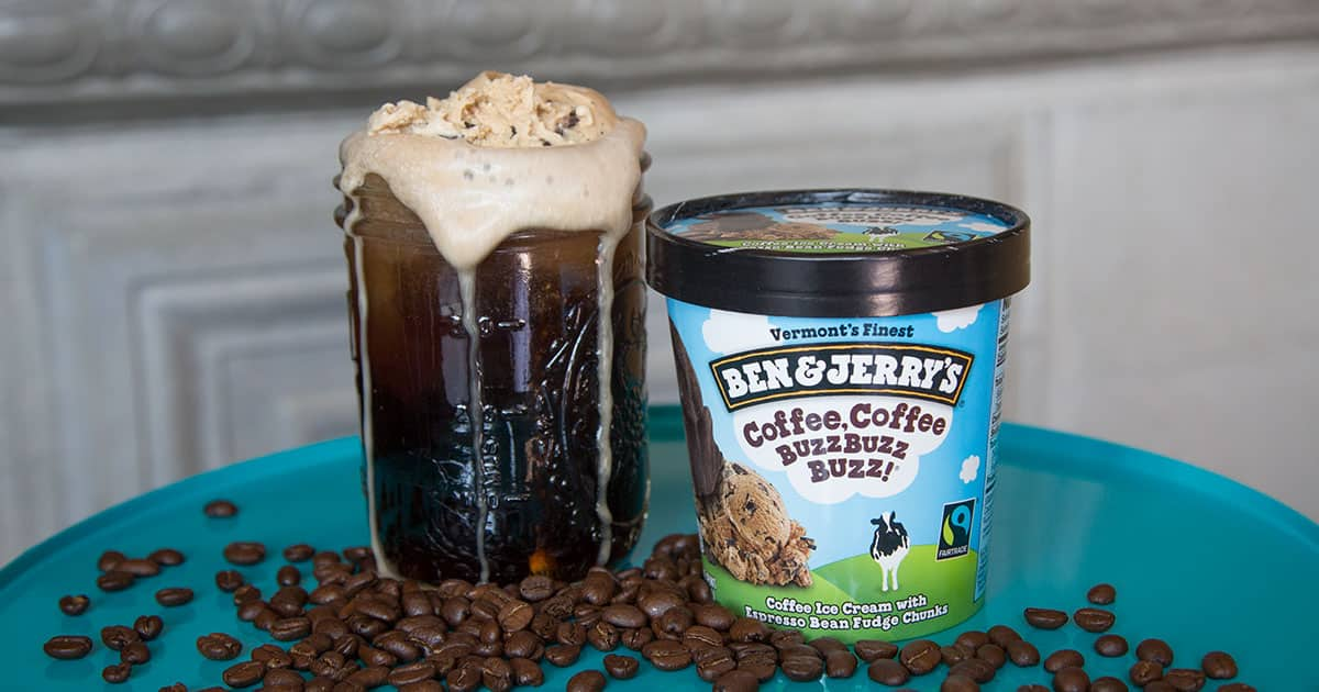 Cold Brew Coffee Soda Float Ben Amp Jerry S