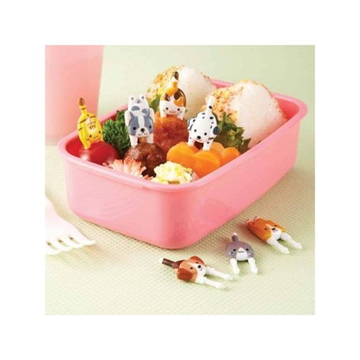 Japanese Bento Box Accessories Food Pick Cute Dogs and Cats for Fo        Japanese Bento Box Accessories Food Pick Cute Dogs and Cats
