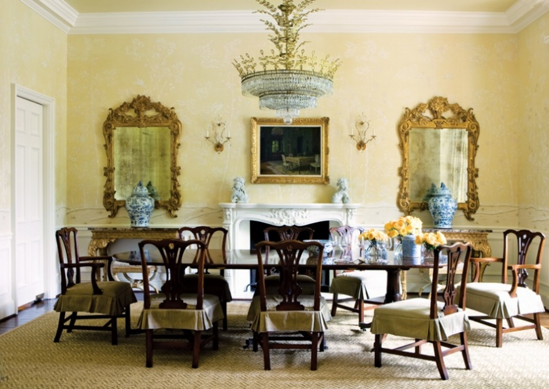 Formal Dining Room Wall Decor