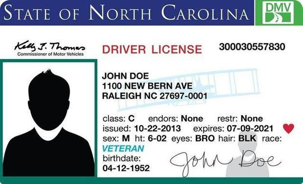 License North License 2013 North Carolina Carolina Drivers Drivers 2013