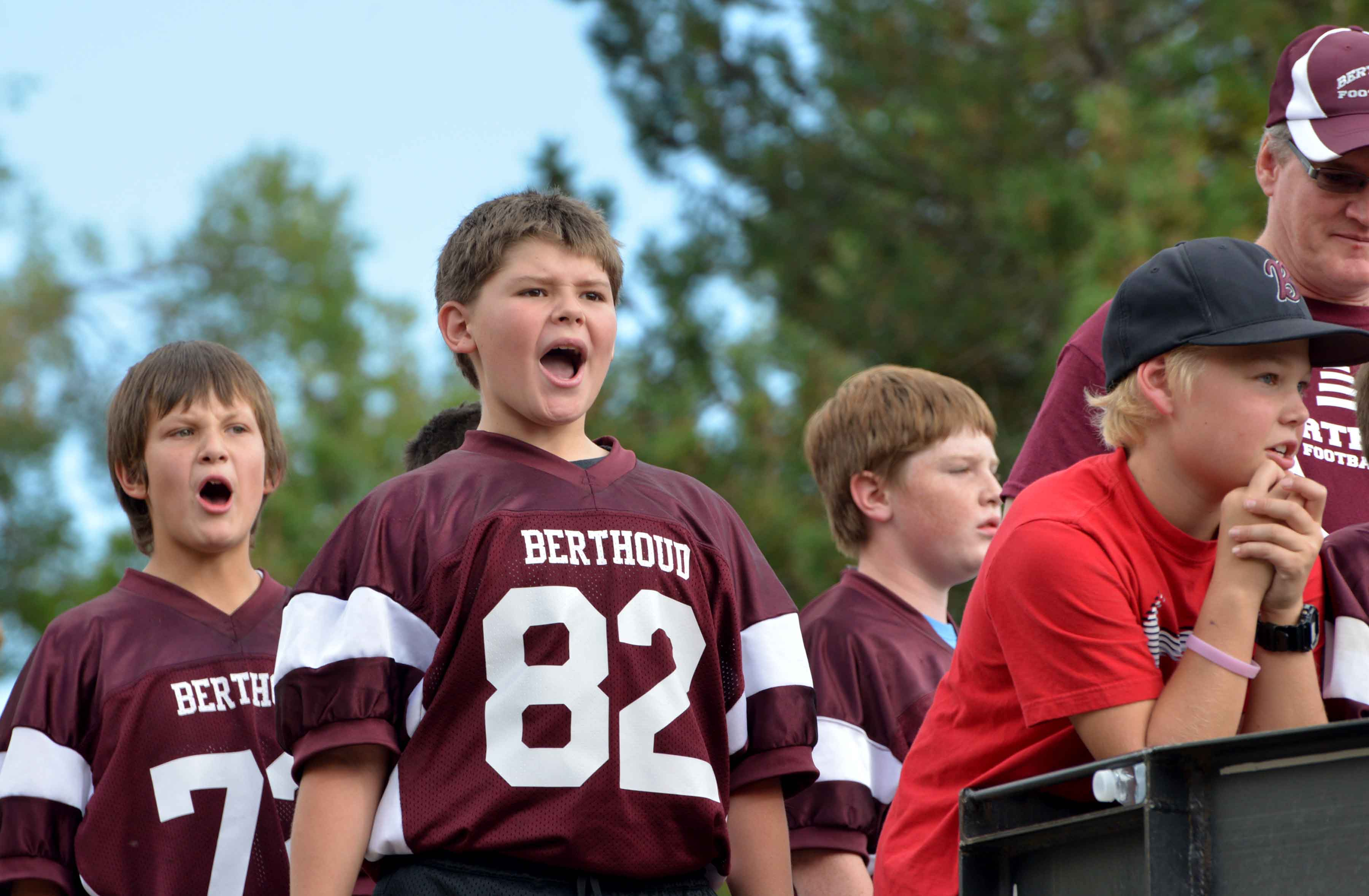 Berthoud High School Football