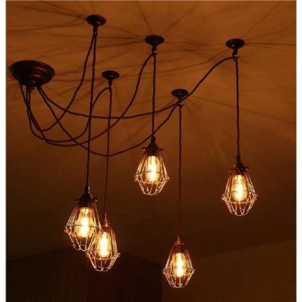 industrial cluster pendant lighting # 20